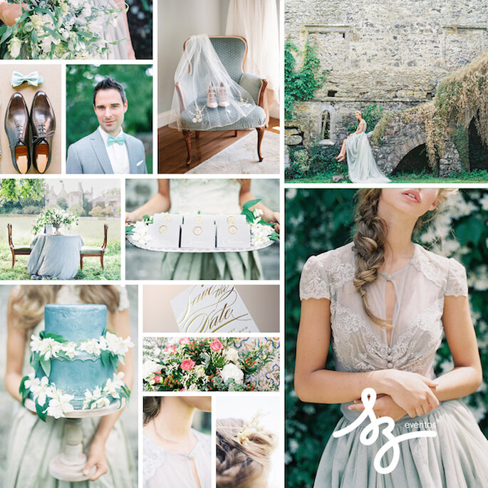 Decoración de boda con tonos polveados y románticos - Cassidy Carson Photography y D'Arcy Benincosa