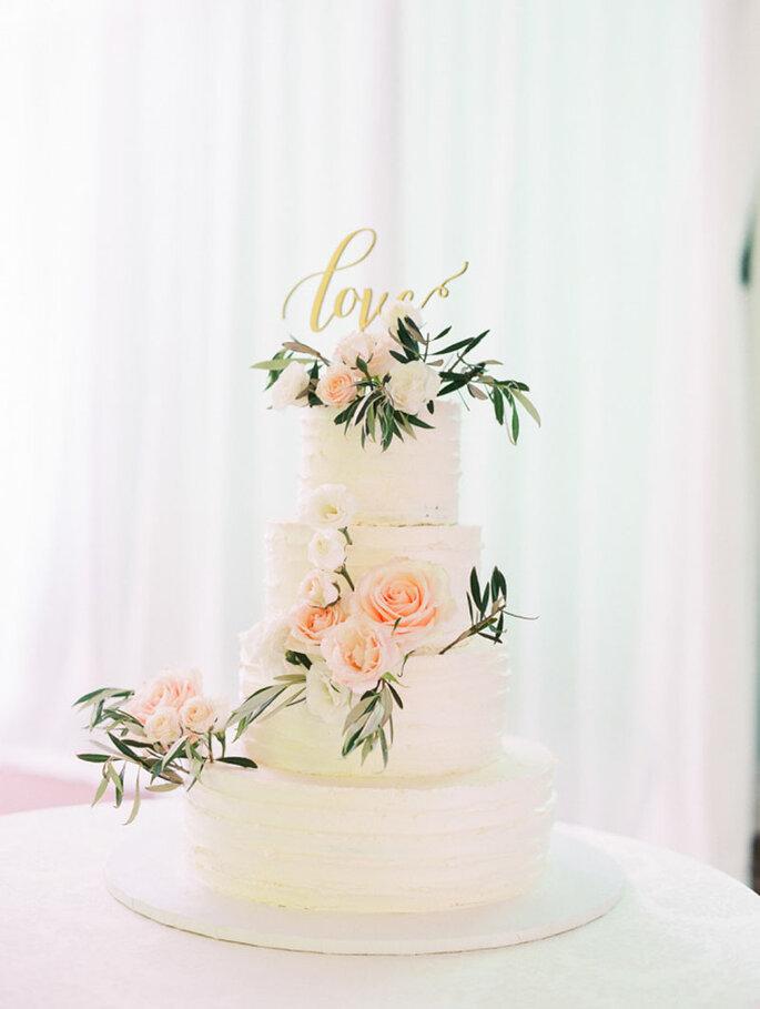Cómo escoger la tarta de tu boda