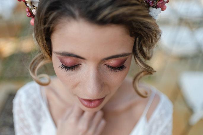 Maquillaje de noche para novias