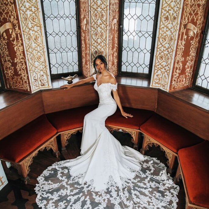 Vestido de novia pensado en Jazmín