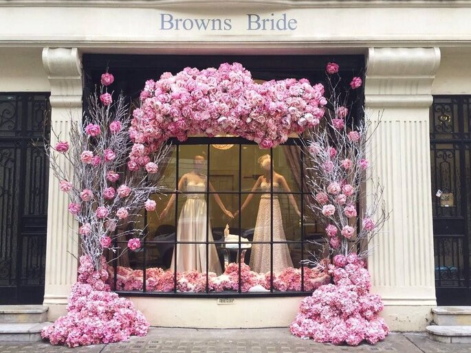 Browns Bride - Shop Front