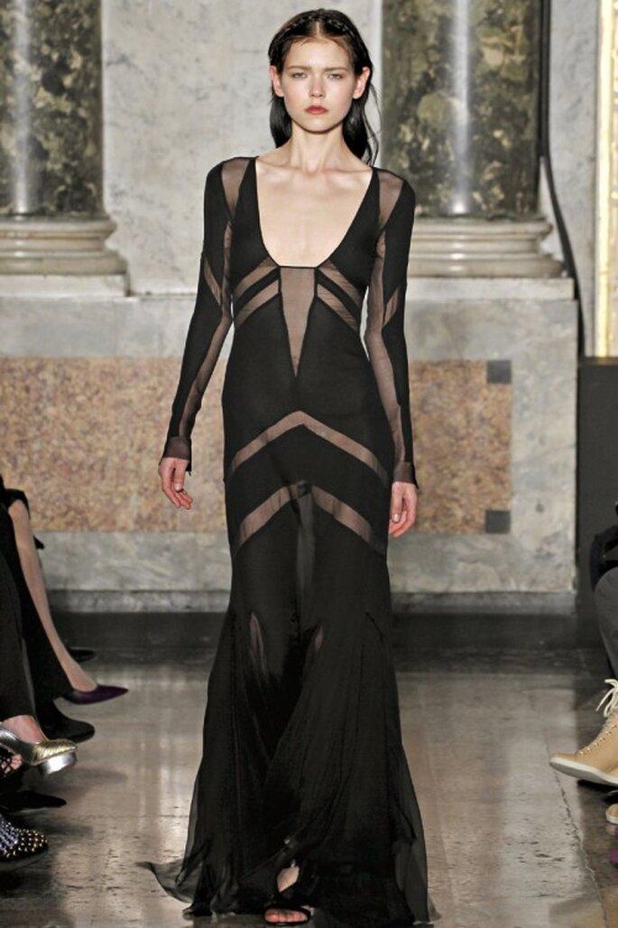 3 tendencias otoñales en vestidos de fiesta - Emilio Pucci
