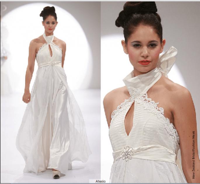 Vestido Artesia, colección 2012 Rubén Perlotti