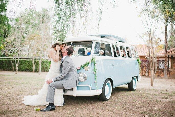 Kombi em casamento