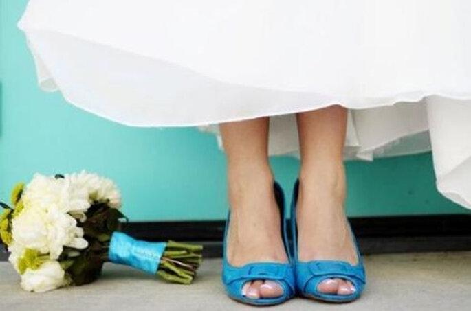 Una nueva tendencia que cobra vida con el pasar del tiempo: Novias con zapatos de colores