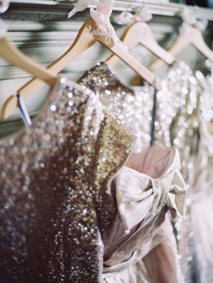 Cómo combinar los vestidos de tus damas de boda - Laura Gordon