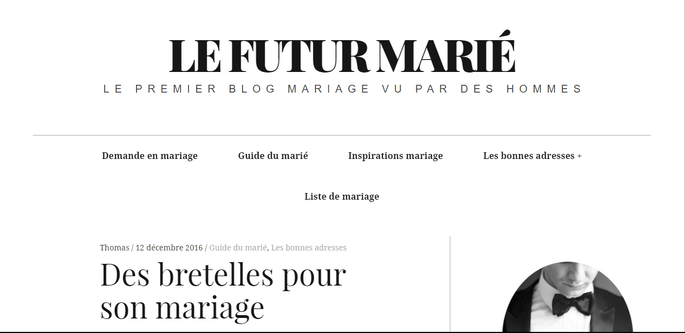 Photo : Le Futur Marié