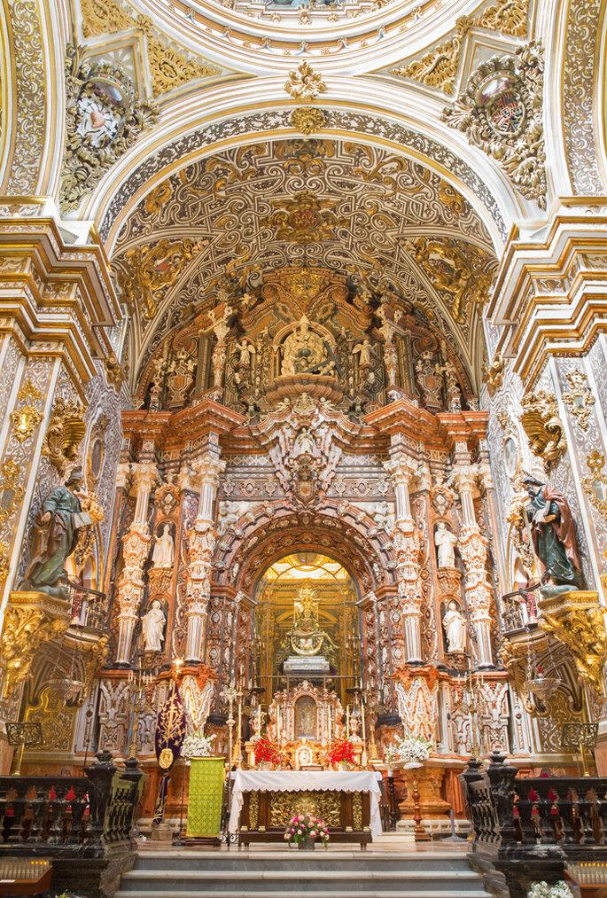 Basílica Nuestra Señora de las Angustias. Foto: Renata Sedmakova
