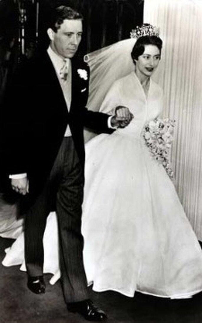 La princesa Margarita se casó con Anthony Armstrong-Jones en 1960