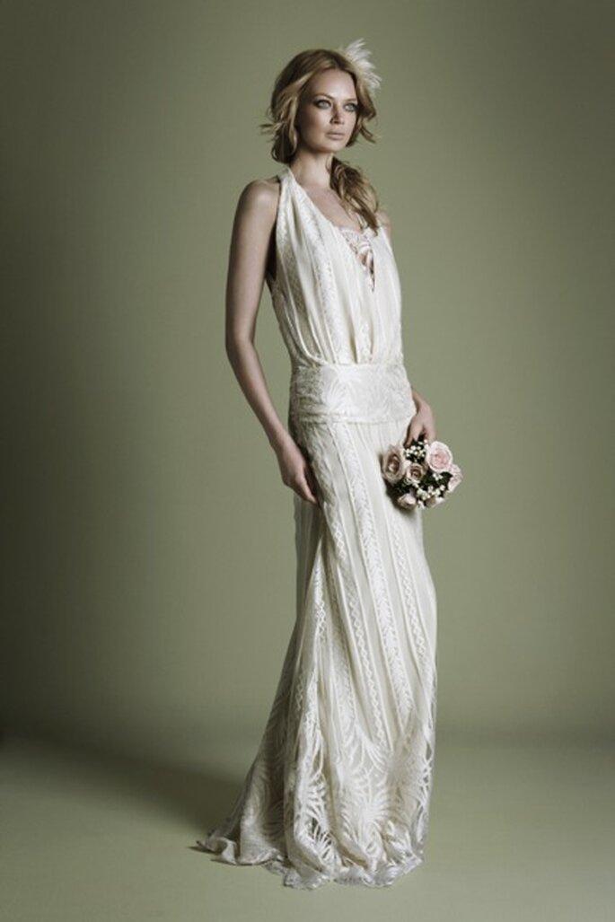Vintage-Kleider sind für eine Hippie-Hochzeit genau das Richtige– Foto:  ©Vintage Wedding Dress Company