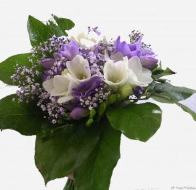 Ramo de novia en color lila para 2011