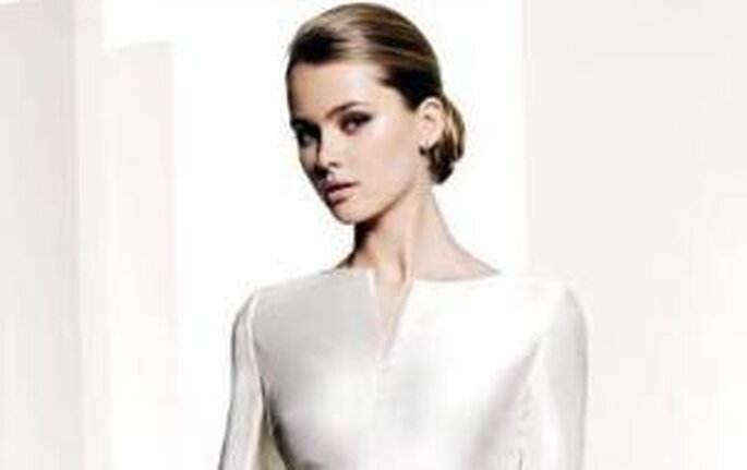 Colección de vestidos de novia Manuel Mota 2010