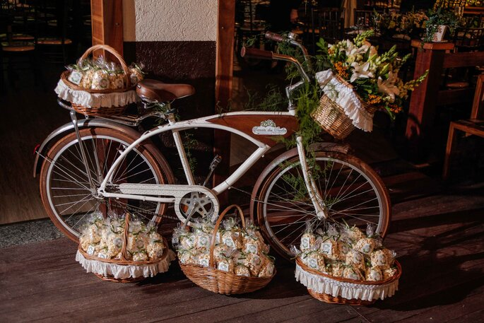 decoração casamento romântica