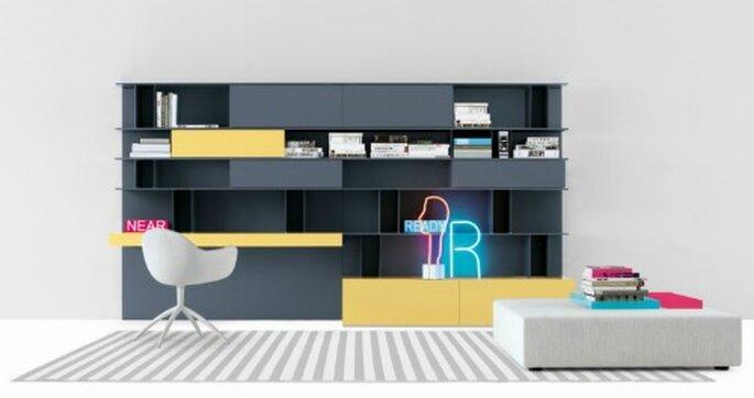 Design contemporaneo per il lavoro e il relax