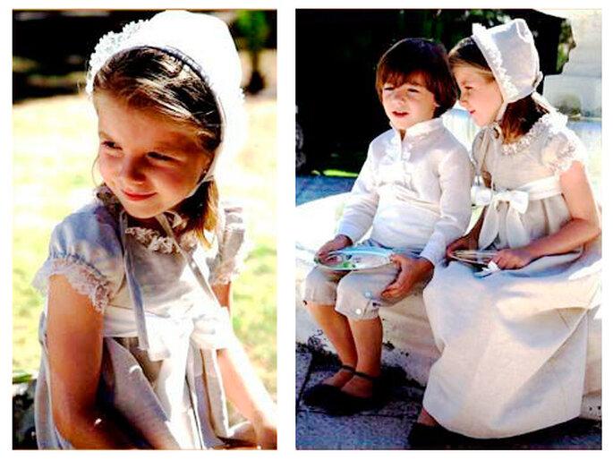 trajes niños del cortejo