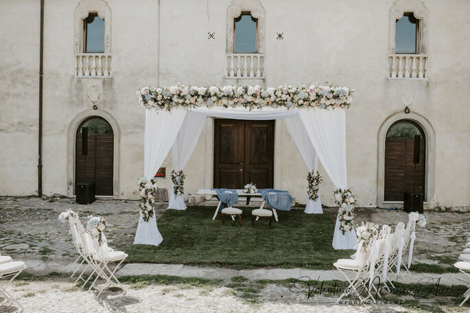 Il Mio Matrimonio Wedding Planners - cerimonia all'aperto con gazebo