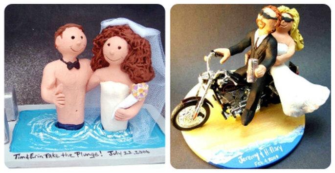 Relajados en la piscina o dando un paseo en moto, con tu creatividad revive momentos especiales con tu pareja