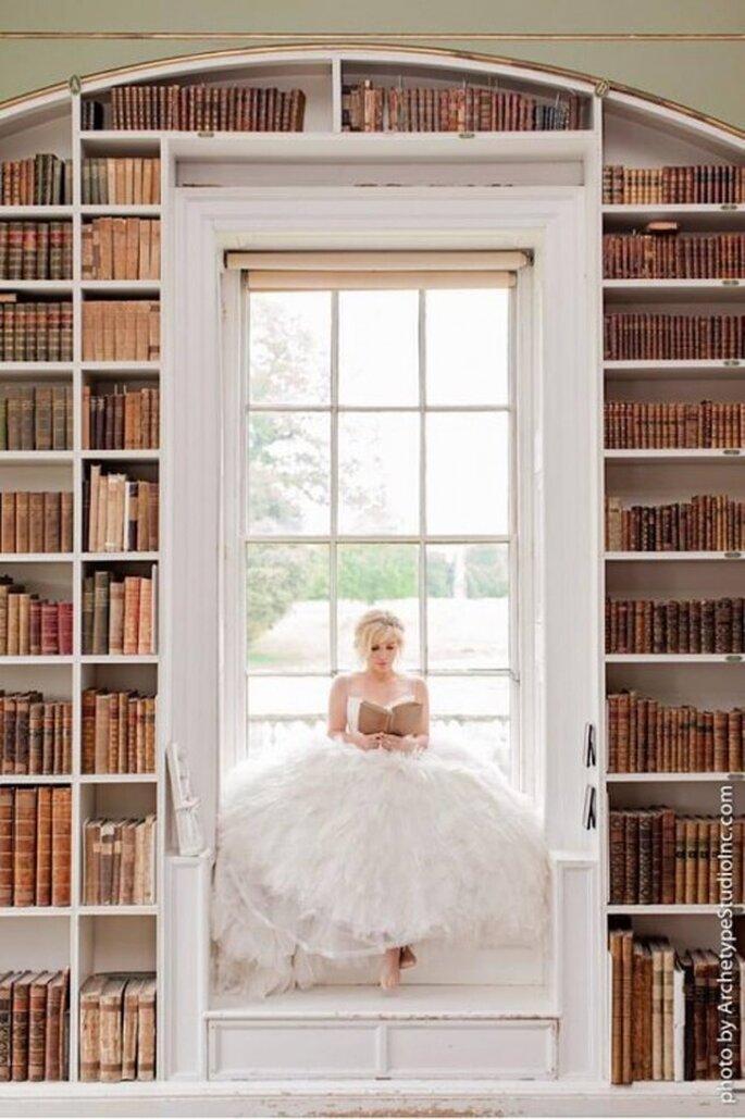 Kelly Clarkson con su vestido de novia para una foto de pre-boda - Foto Kelly Clarkson Facebook