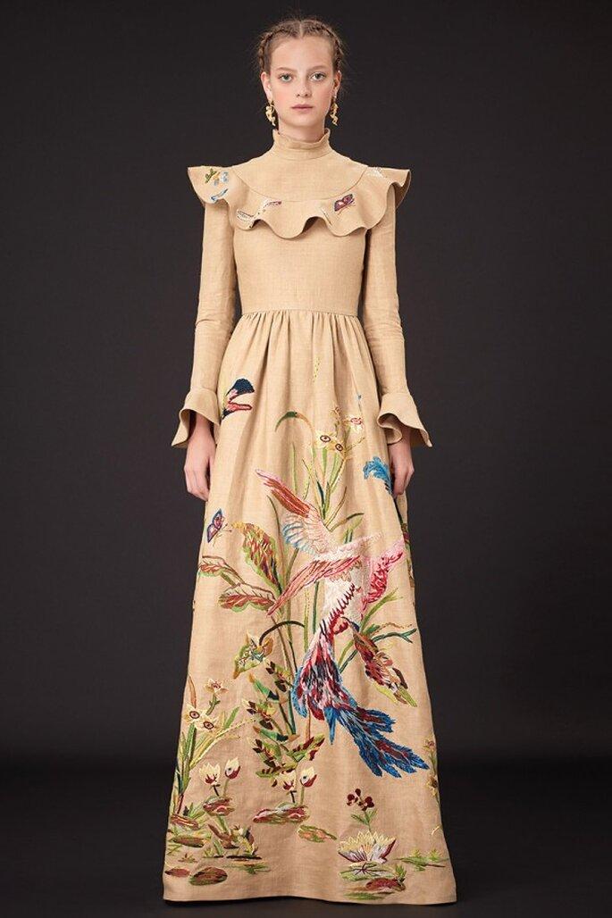 f43e0800a La estética de Frida Kahlo en un nivel exquisito  Vestidos de fiesta ...