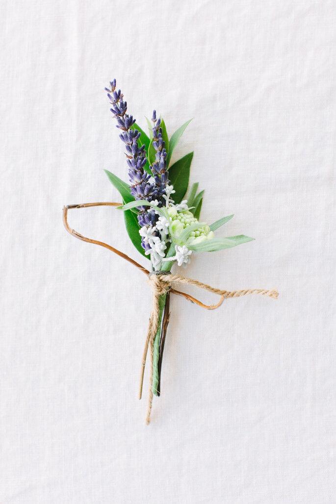 Decoración de boda en color lavanda - Katie Stoops Photography