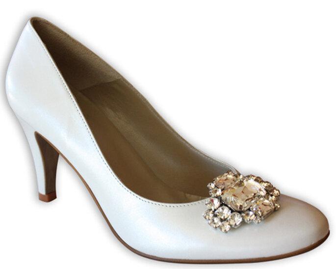Les clips à chaussure habillent d'un rien une chaussure trop classique. Copyright : Love Shoe Clip