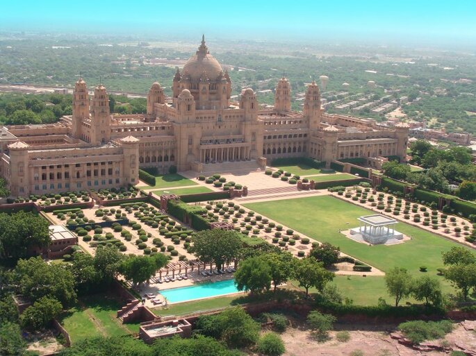 Photo: Umaid Bhawan Palace.
