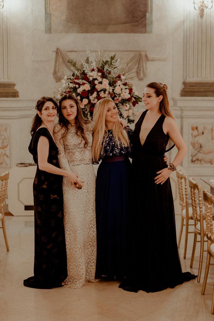 Dietro VIVI FIrenze, una squadra tutta al femminile, supportata da uno staff fantastico e legata da rispetto, professionalità ed amicizia