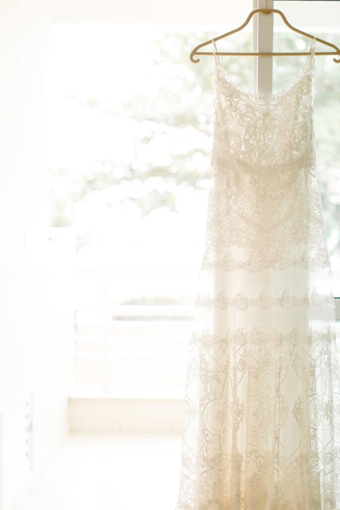 Vestido de noiva: Casamarela Noivas - YolanCris | Foto: Aloha Fotografia