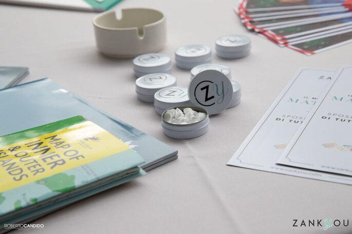 Tra i gadget offerti durante il nostro evento, una copia in esclusiva di Sposi Magazine per i nostri ospiti