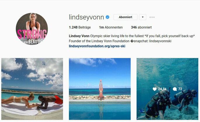 lindseyvonn/Instagram