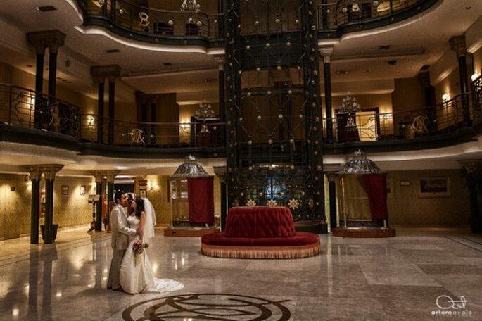 Elige un lugar de ensueño para tus fotos de boda - Foto Arturo Ayala