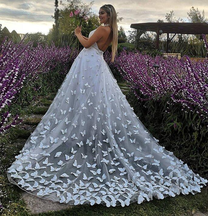 Etait Une Fois - Violeta Vestidos de novia Bogotá