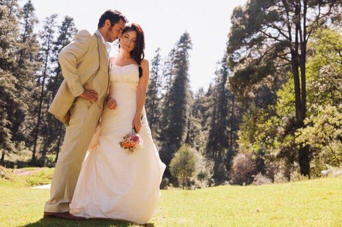 Disfruta de tus románticas fotos de boda sin ningún contratiempo - Foto Arturo Ayala