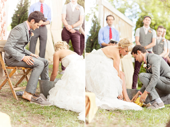 Carissa + Ryan. Foto: Glass Jar Photography