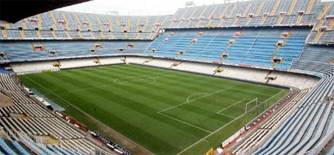 Estadio Mestalla (Valencia C.F.) Foto: www.fotografiavalencia.com