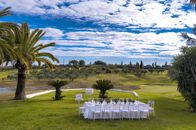 Club Zaudín Golf restaurante bodas Sevilla