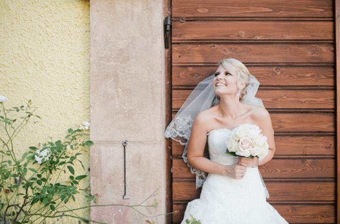 Ramos de novia redondos. Fotografía Nadia Meli