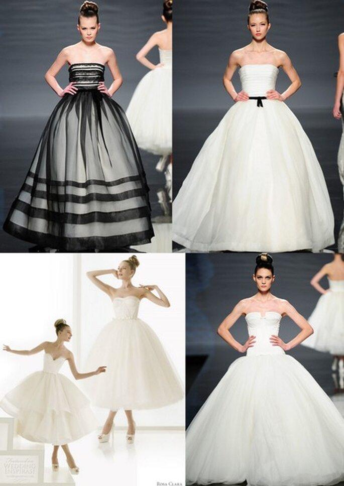 Vestidos de noiva inspiração ballet - Rosa Clará