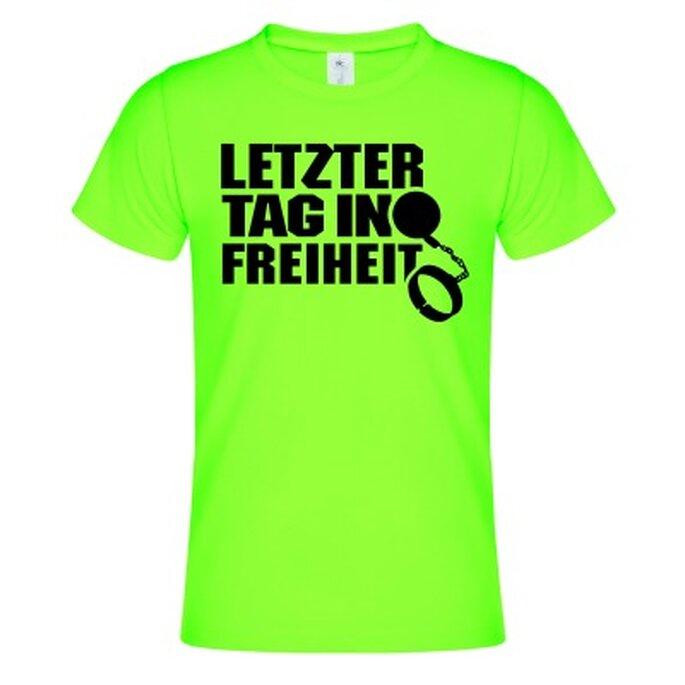 ... Junggesellenabschied Sind Lustige T Shirt Sprüche. Speichern Foto:  Www.shirtinator.de