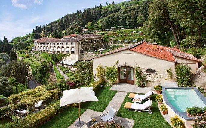 Belmond Villa San Michele. Foto: divulgação