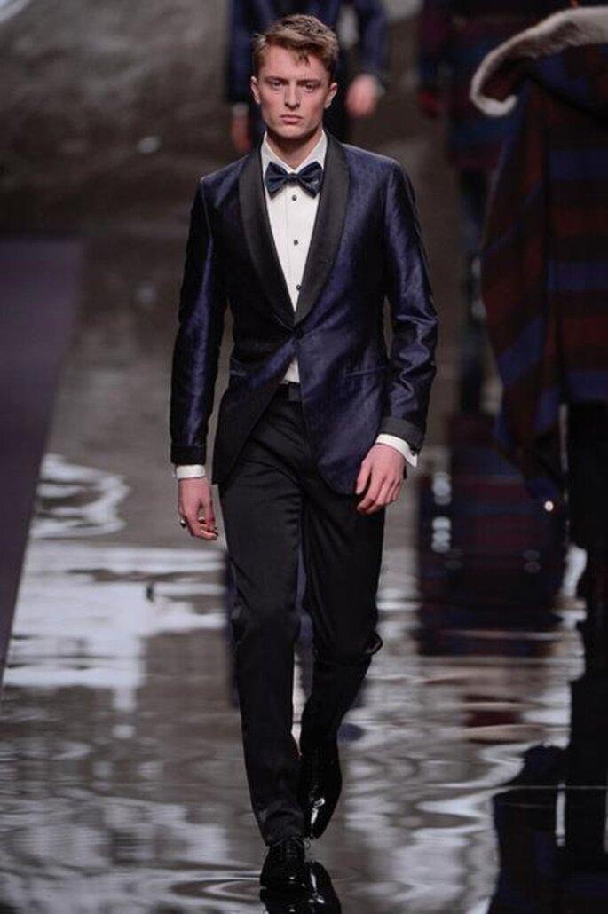 Estilo elegante y formal para invitados hombres a una boda en invierno - Foto GQ
