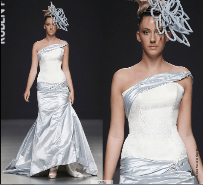 Vestido Ditta, colección 2012 Rubén Perlotti