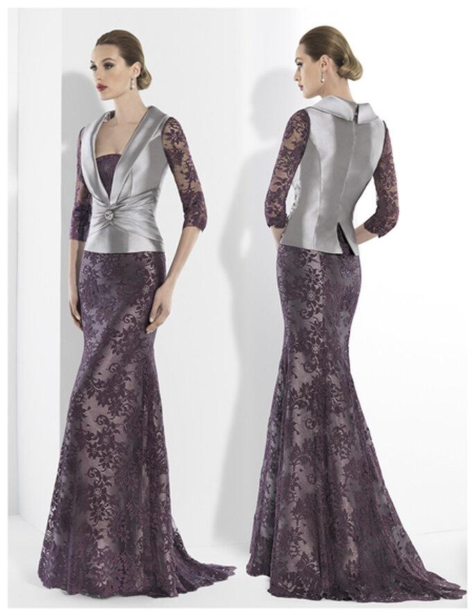 Ravissantes robe de soirée et veste Franc Sarabia 2014. Photo: www.francsarabia.com