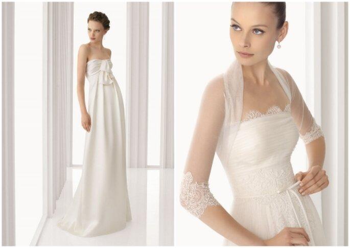 Vestidos de novia Rosa Clará, colección 2012