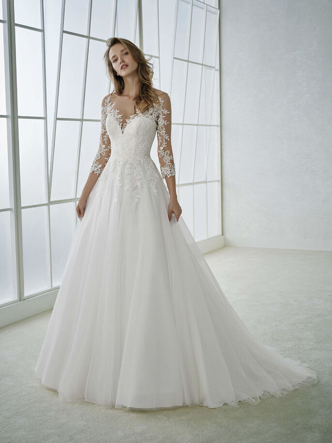Vestido de noiva saia A