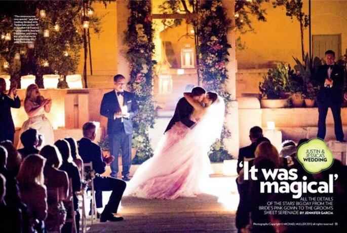 Romantica boda de Jessica Biel y Justin Timberlake en Italia - Foto Tom Ford Facebook