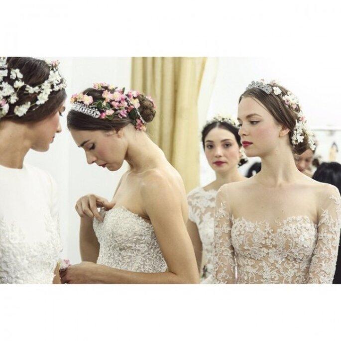 Las mejores tendencias en maquillaje de novia 2015 - Foto Reem Acra