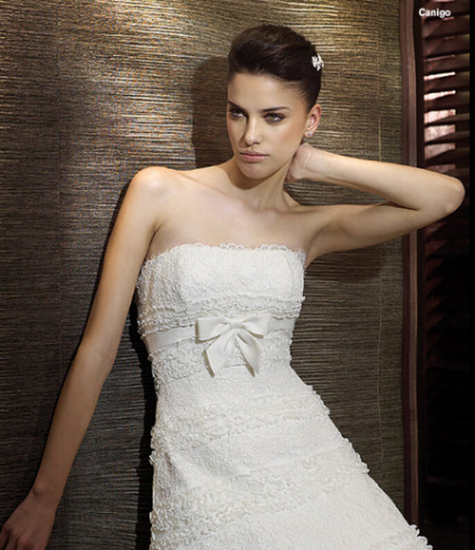 """Unser """"Brautkleid der Woche"""": Modell """"Canigo"""" von San Patrick"""