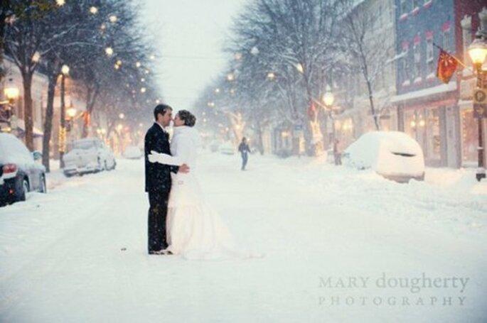 Invierno, la mejor temporada para una boda perfecta - Foto Mary Dougherty