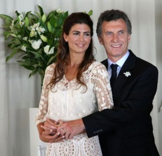 Boda Civil Mauricio Macri y Juliana Awada